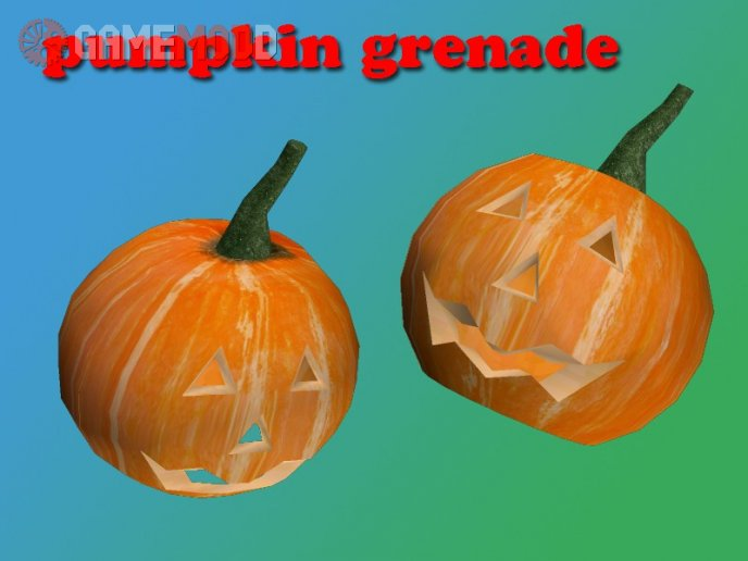 Grenade pumpkin
