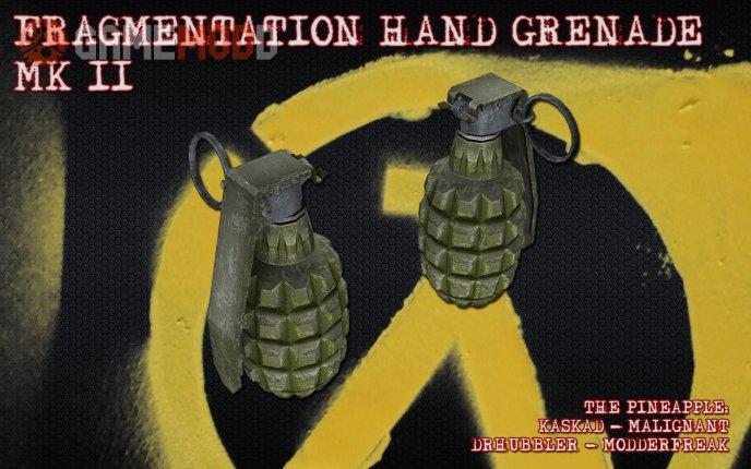 Kaskad feat. Drhubbler - MK2 Frag Grenade On IIopn