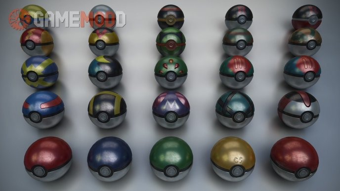 Pokeball grenades
