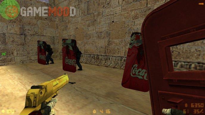 Coca-Cola Girl Shield