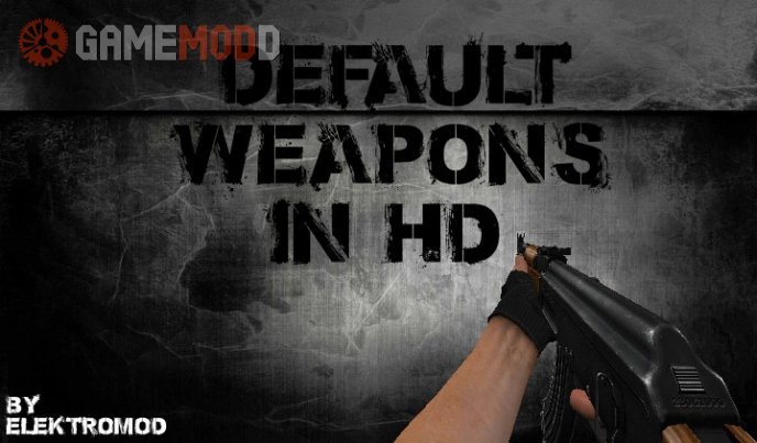 Default HD Weapons (FULL PACK)