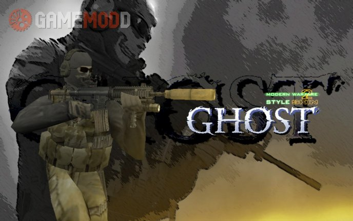 Ghost (MW2 style skin)