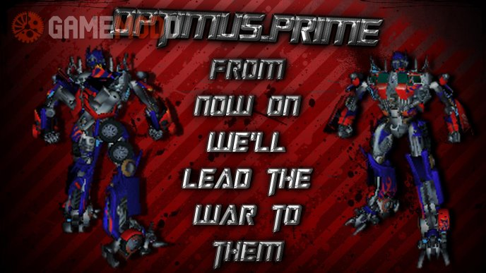 Optimus Prime for gsg9