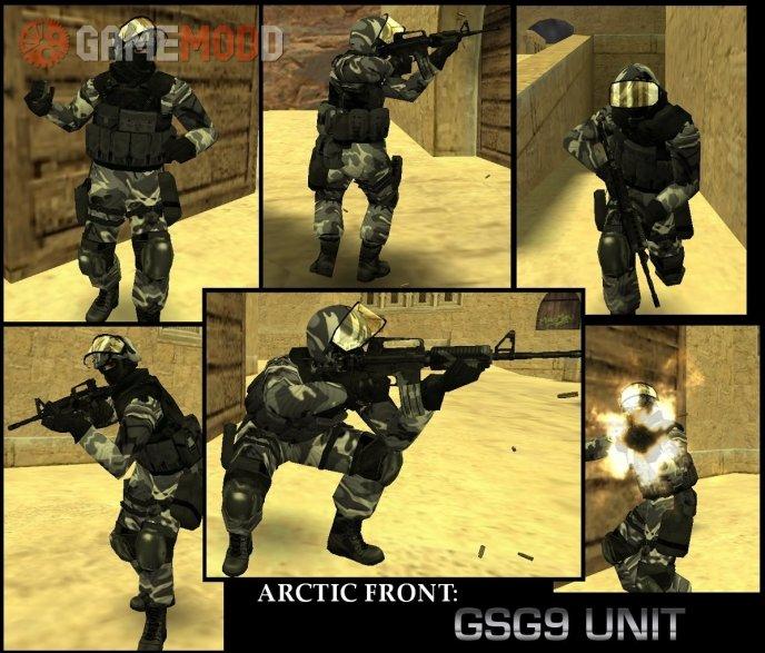 Arctic Front GSG9 Unit