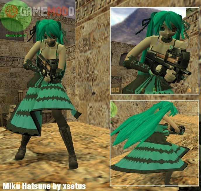 Miku Kurumi Clothes