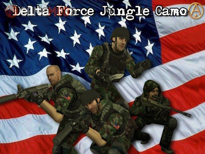 Jungle Delta Force Skinpack