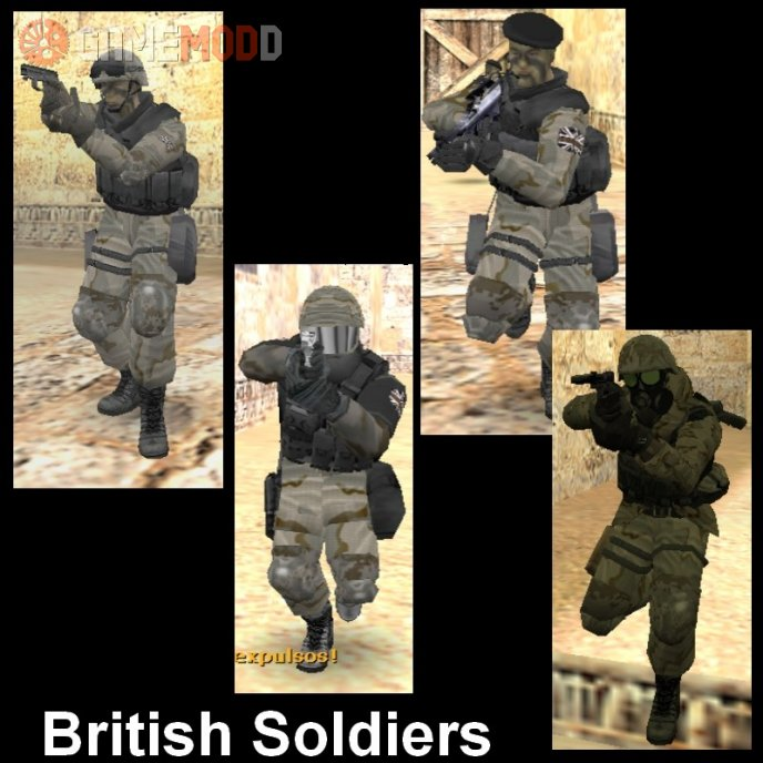 British Tactical Soldiers