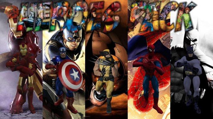 Superheroes Pack