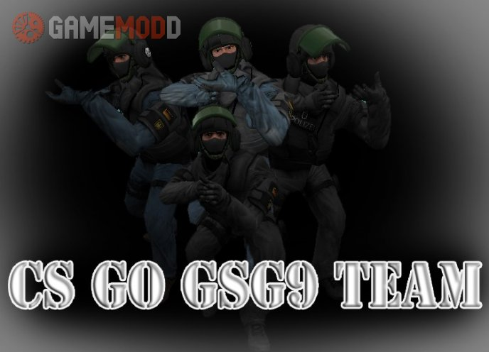 CS GO GSG9 TEAM