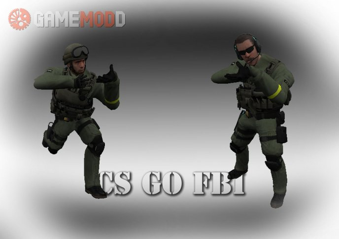 CS GO FBI TEAM