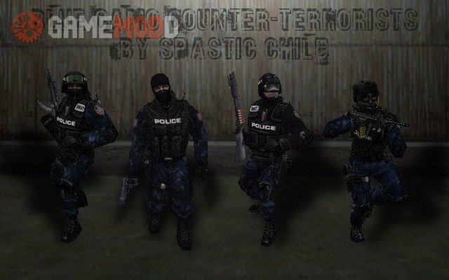 Blue Camo Counter-Terrorists