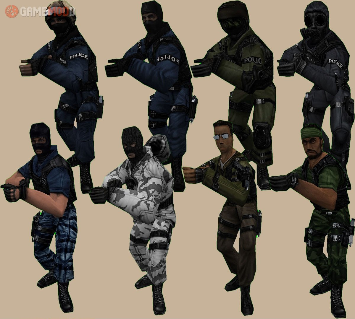Counter Strike 1.6 скины