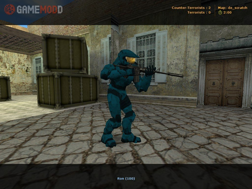 Halo 2 Red Vs Blue 187 Cs 1 6 Skins Players Packs