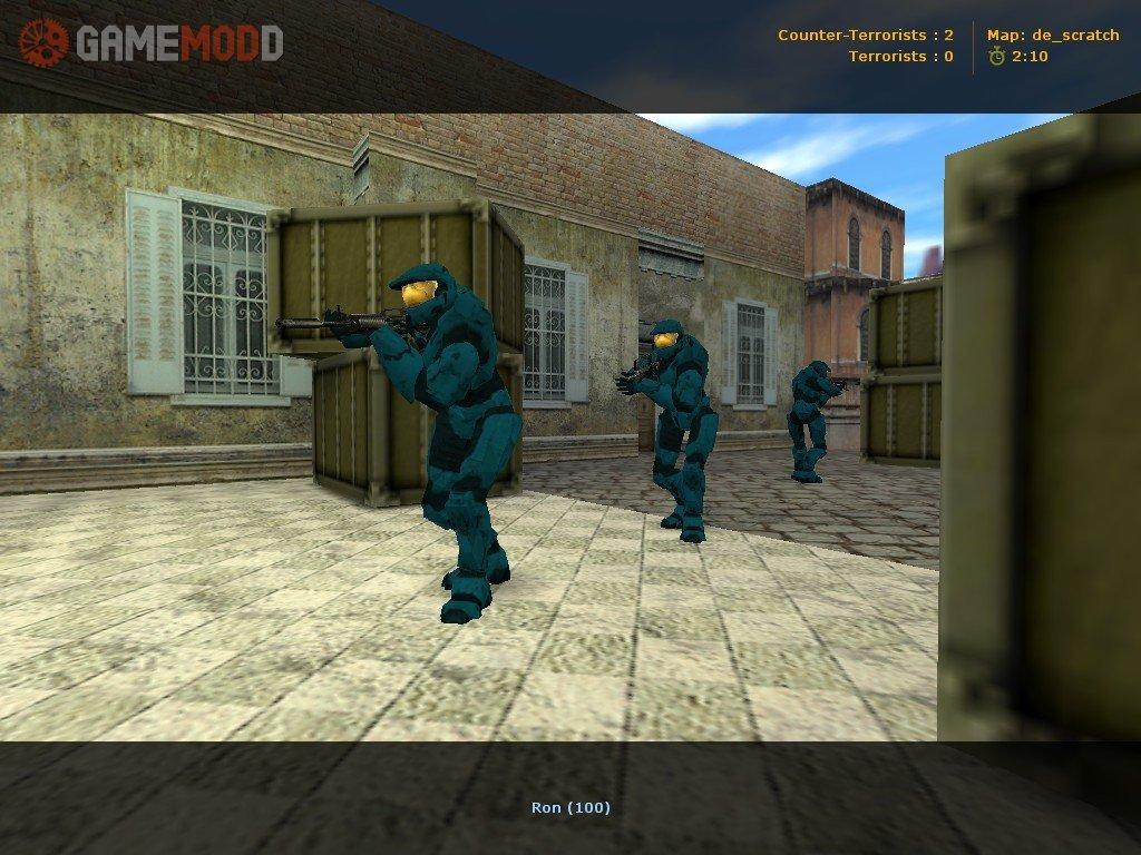 CS Skins Players GAMEMODD - Skin para minecraft pe halo