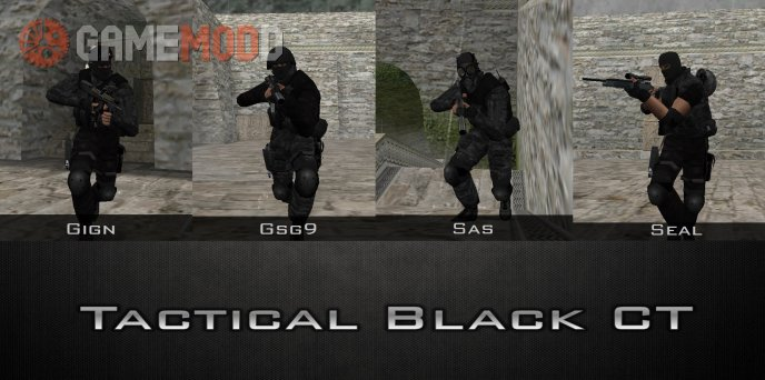 Tactical Black CT