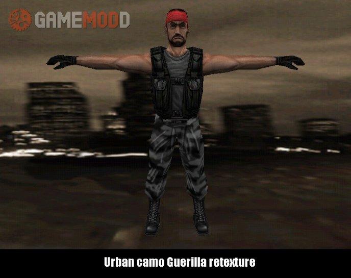 Urban camo Guerilla retexture