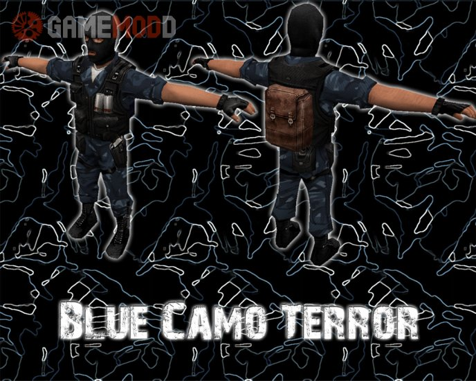 Blue camo terror