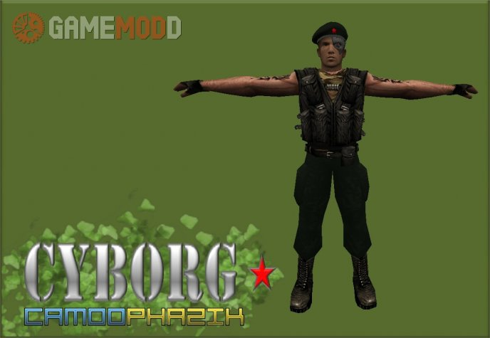 Cyborg [By Camoo Phazick]