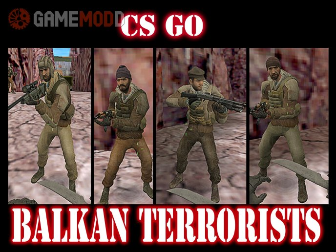 CS GO BALKAN TERRORIST TEAM