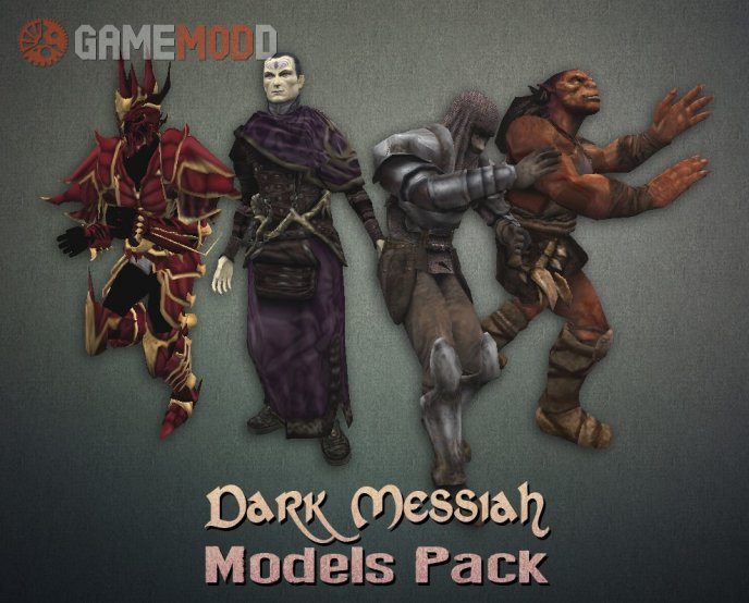 Dark Messiah of Might and Magic Models