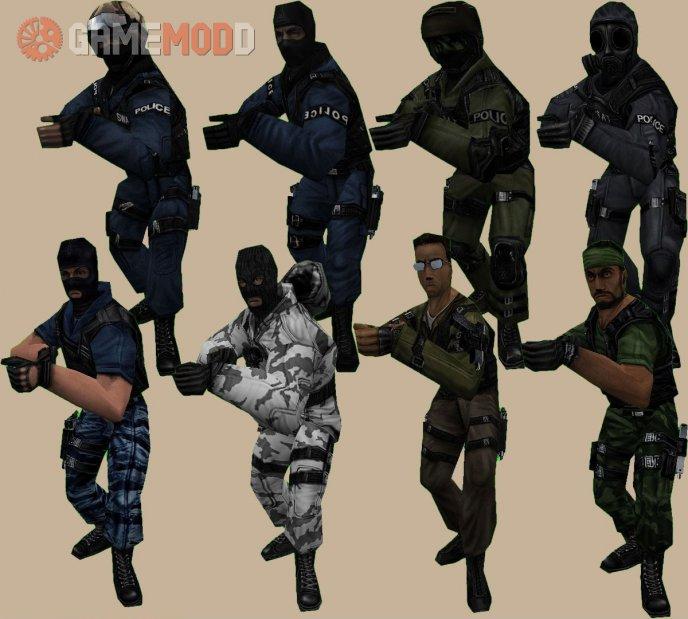 RPC Counter-strike Models