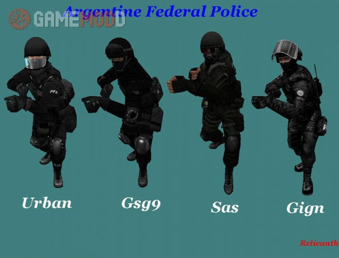 Argentina Federal Police (Skins CT)