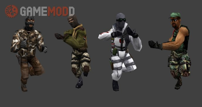 Old School Terror Player Model Set