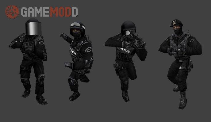 Insomniax LAPD SWAT Complete Set