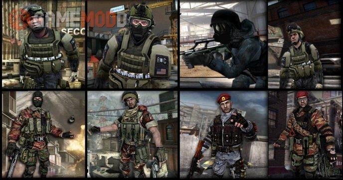 CS 1 6 - Skins Players | GAMEMODD