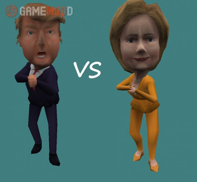 Trump VS Hilary (CT + Terror Pack)