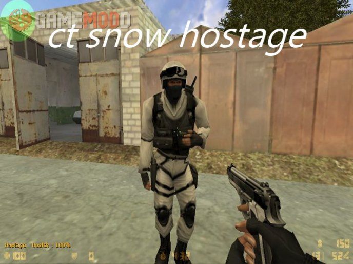 CT snow hostage