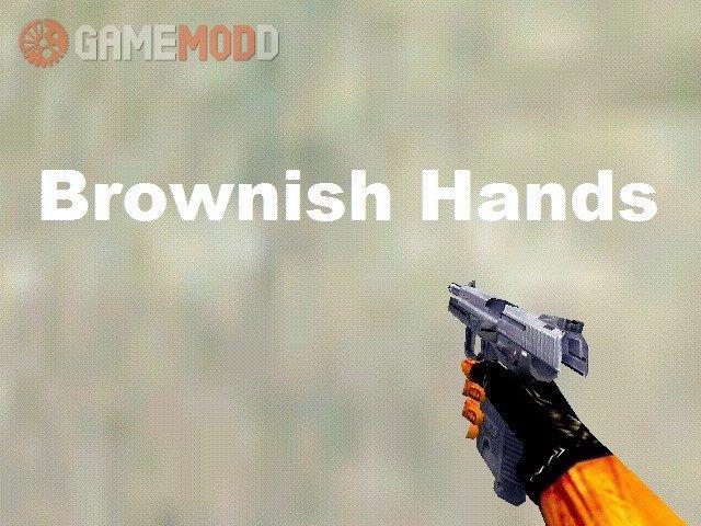 Brownish Hands