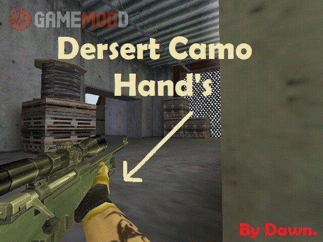 Desert Camo Hand's