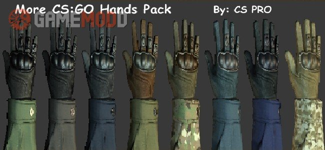 More CS:GO Hands