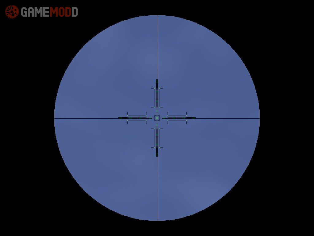 Green Sniper Scope » CS 1.6 - Sprites Scopes