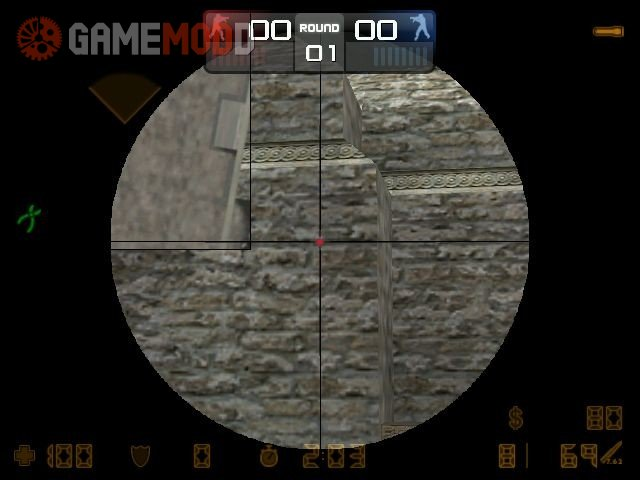 Clean Scope with a red dot