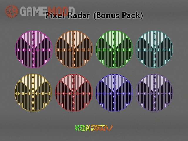 Pixel Radar (Bonus Pack)