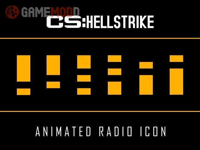 CS HellStrike: Animated Radio Icon