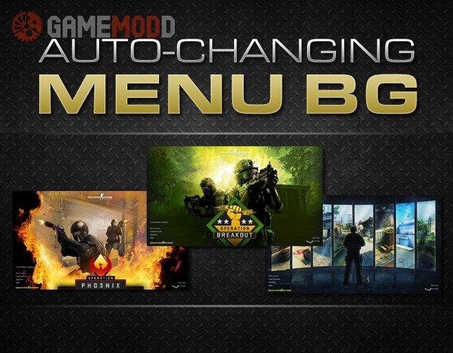 Auto-Changing Menu Background