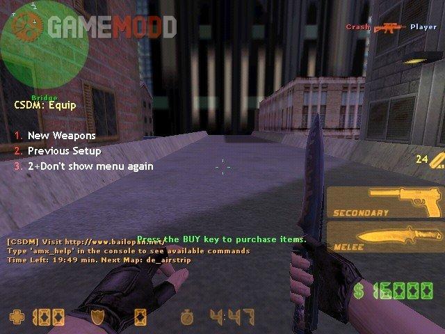 CS 1 6 deathmatch with bots » CS 1 6 - Mods | GAMEMODD