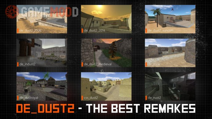 de_dust2 | The Best Remakes