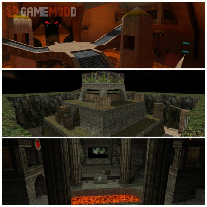 ZombieMod Map Pack