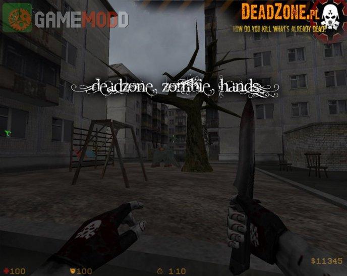 DeadZone Zombie Hands