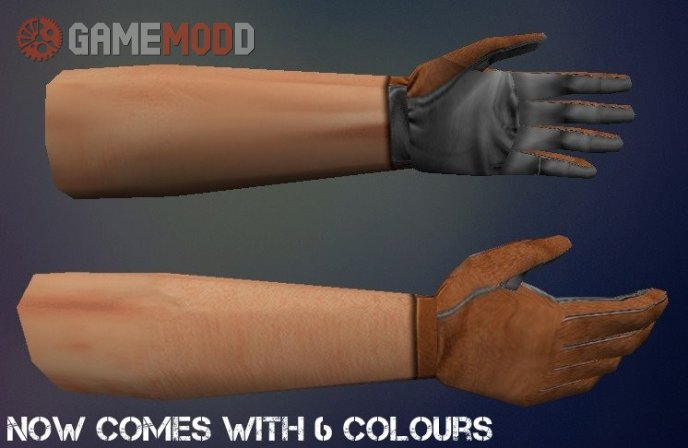 Pilot Gloves Remake