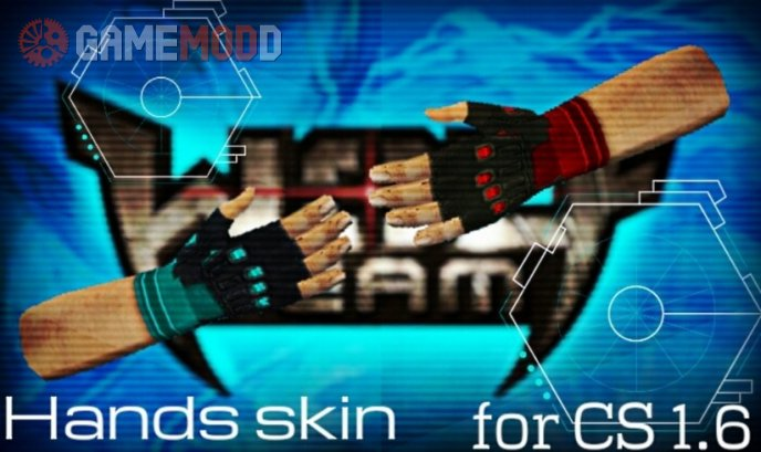 Wolfteam Hands Skins for CS 1.6