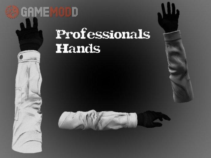 Professionals Hands