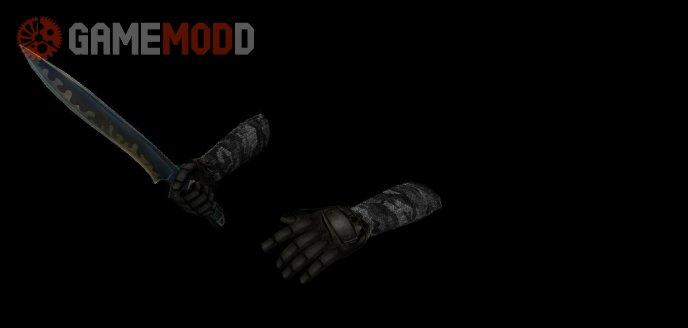 Dark Urban Camo Sleeves