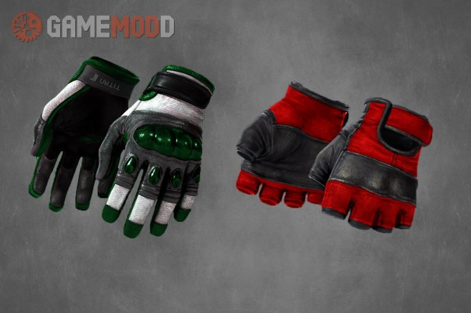 CS GO Colored Gloves
