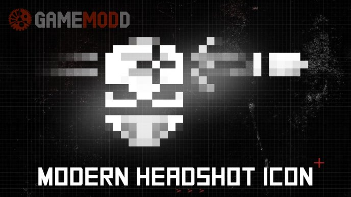 Modern Pixel Perfect Headshot Icon