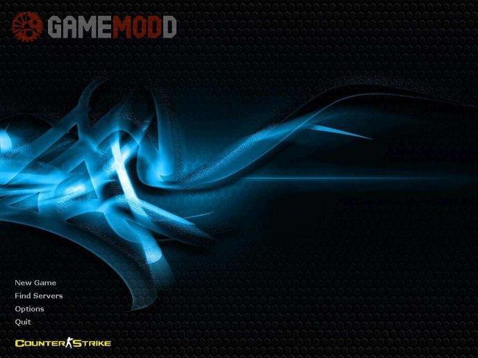 Blue Carbon Background